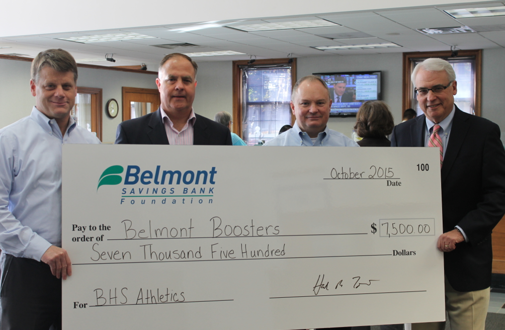 Belmont Boosters - Belmont Savings Bank Foundation